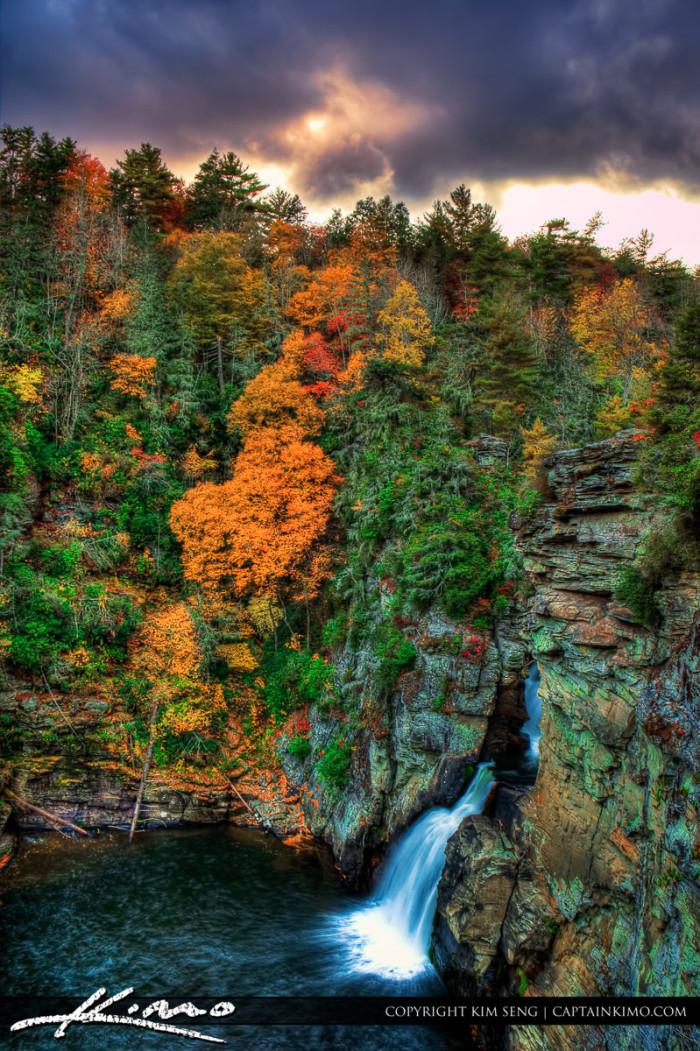 6. North Carolina has over 400 waterfalls.