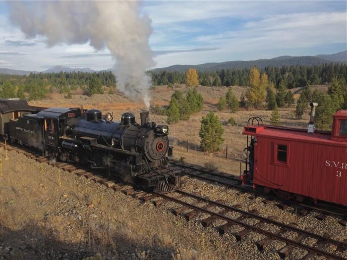4. Sumpter Valley Railroad