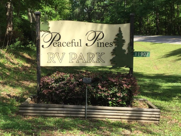 11. Peaceful Pines RV Park & Campground, 111907 Highway 965, St. Francisville, LA