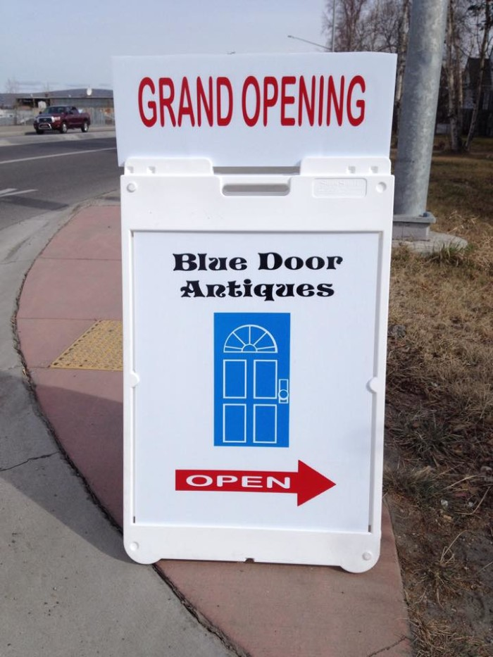 4. Blue Door Antiques (Fairbanks)