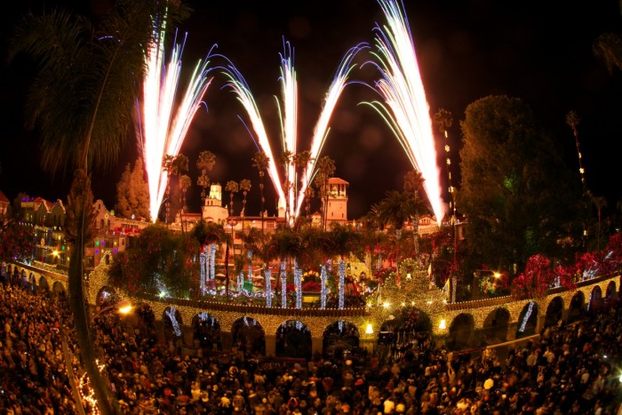 11. Festival of Lights at the historic Mission Inn sets the city aglow.