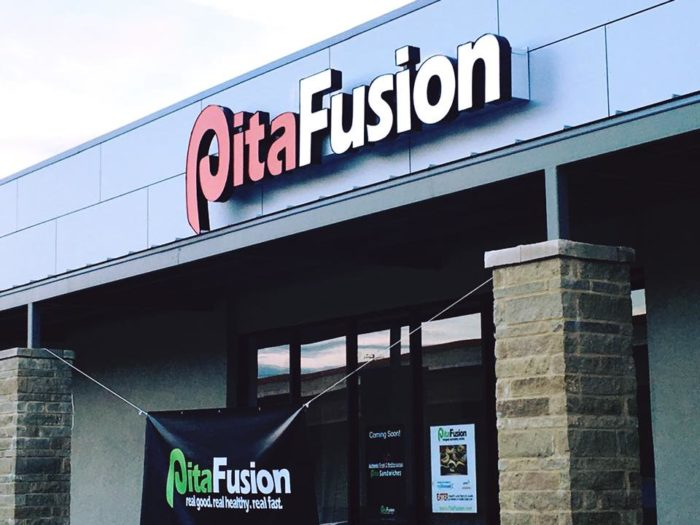 5. Pita Fusion claims to have the best AUSTIN style pitas....And we can confirm this!