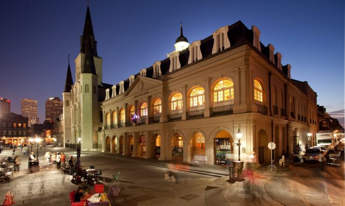 9. Visit The Presbytere Museum on Jackson Square Cost: $6.00