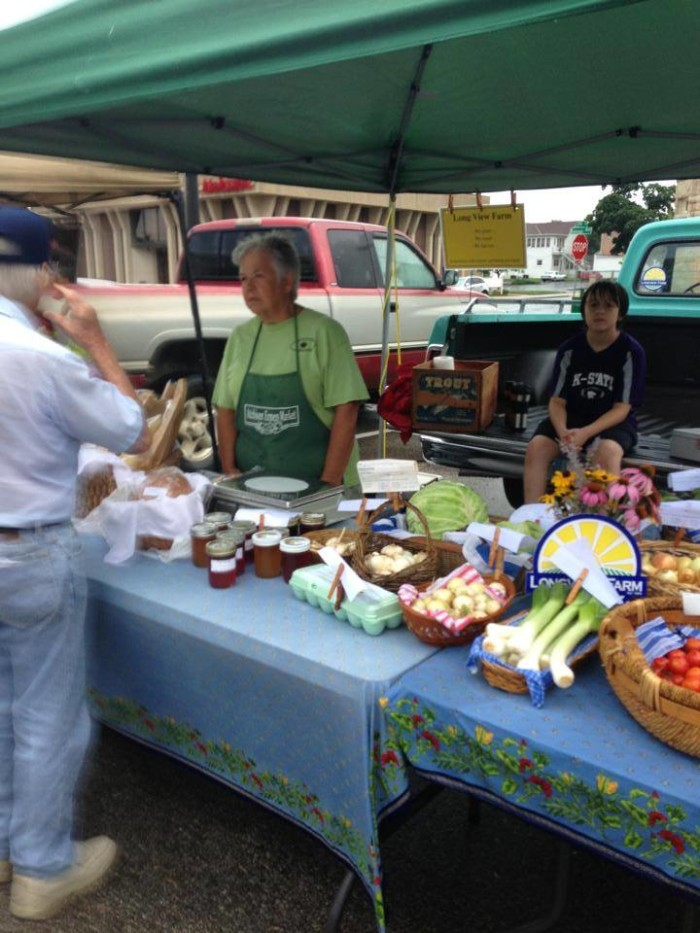 10. Atchison Farmers Market (5th & Main St., Atchison)