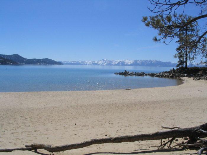 1. Sand Harbor Beach