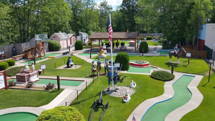 6. Play golf on the Village Green in Natick.