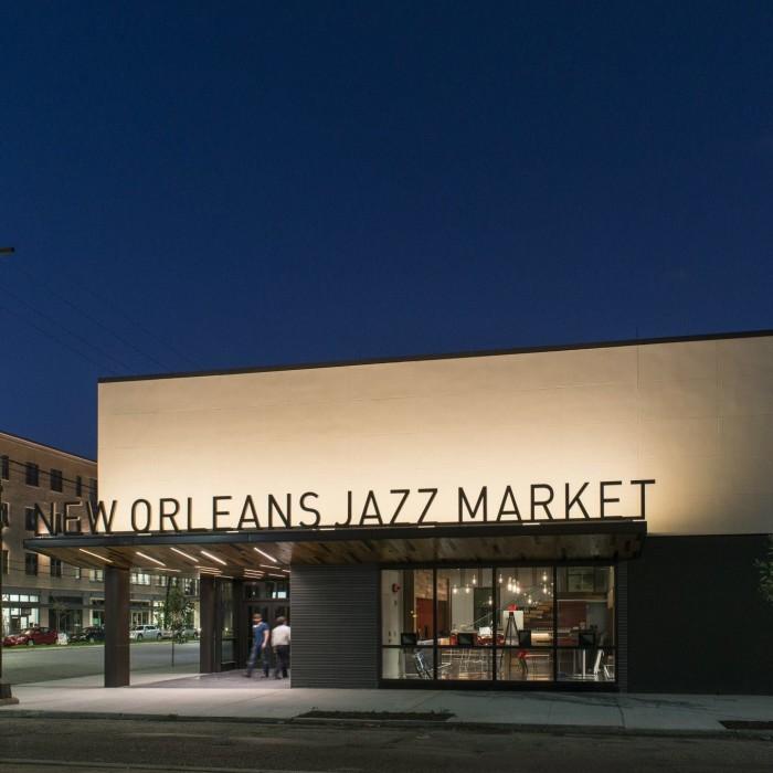 1) New Orleans Jazz Market, 1436 Oretha Castle Haley Blvd.