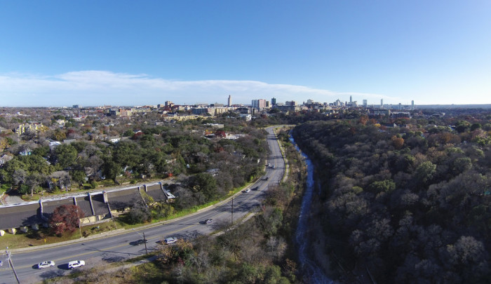 8. Shoal Creek is that hip-chic neighborhood of Austin that is in downtown Austin, yet feels miles away because of the creek and nature surrounding it.