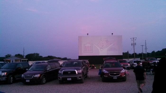 12. Valle Drive-In, Newton