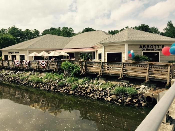 13. Abbott's on Broad Creek, Laurel