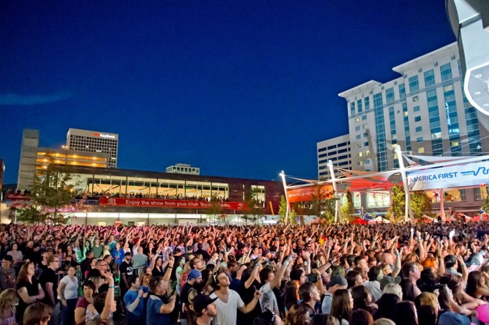 5. If you're looking for live music, Salt Lake City is the place.