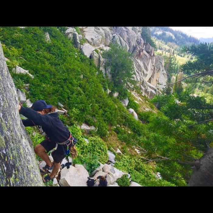 17. Climb a cliff.