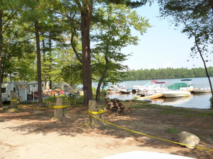8. Water's Edge Campground, Coventry