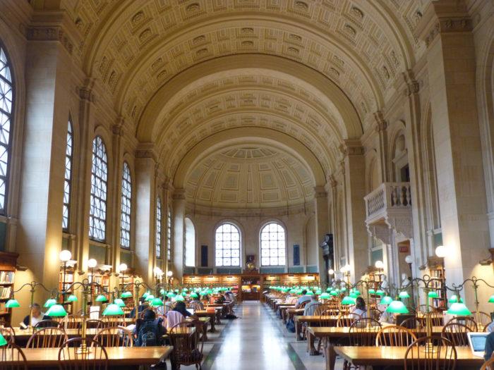 6. Boston Public Library