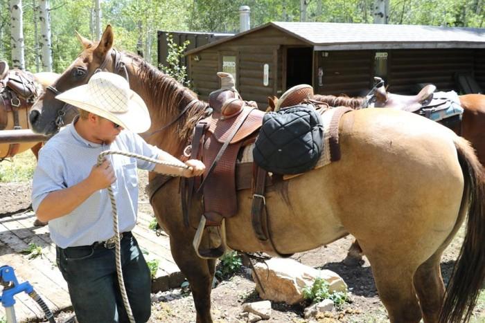 9. Ride a horse.