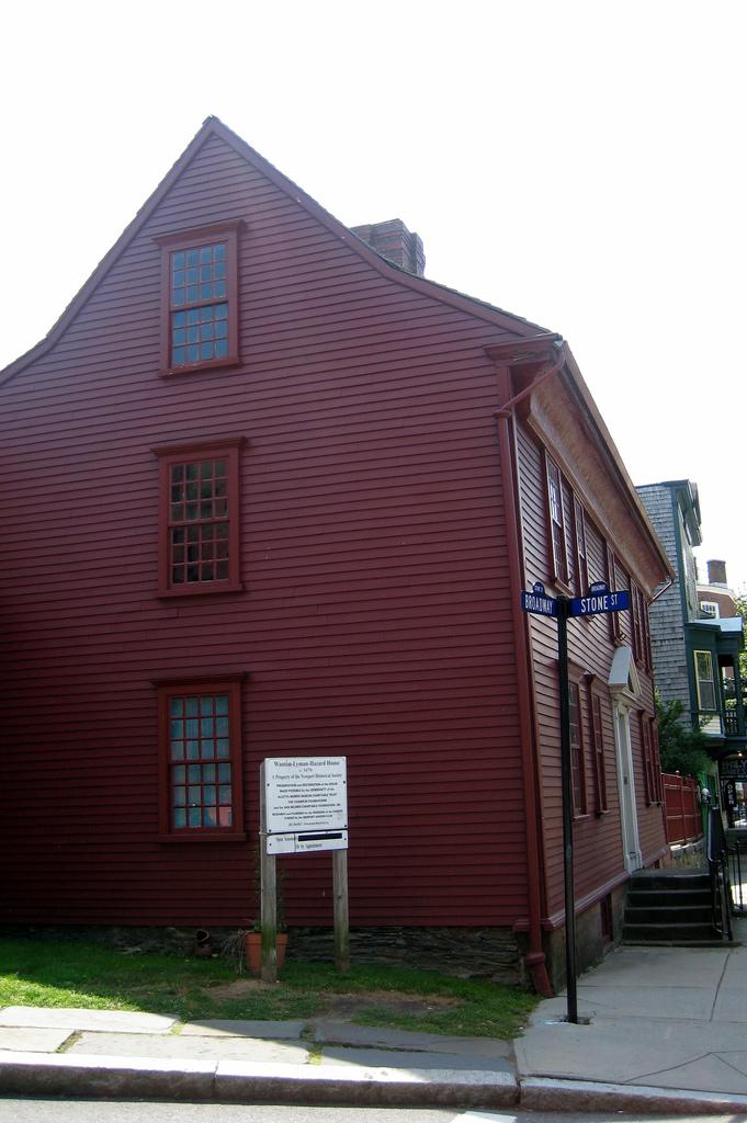 4. Wanton-Lyman-Hazard House, Newport