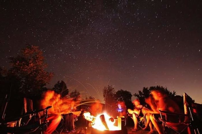 10. Have a bonfire with all your friends.