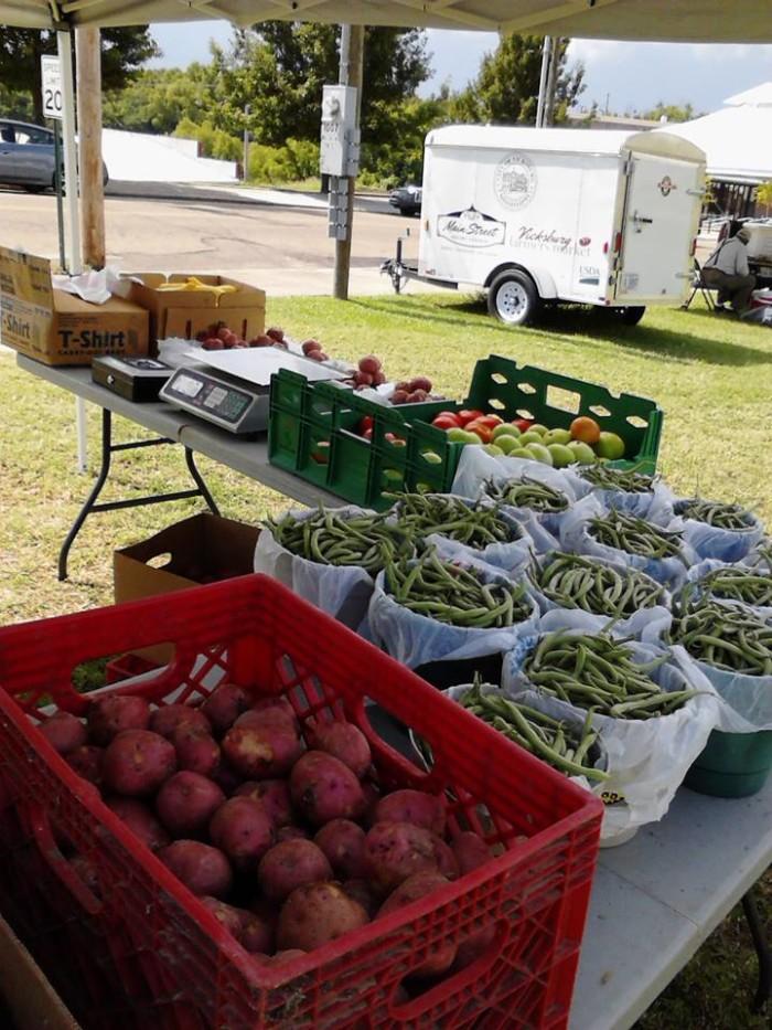 12. Vicksburg Farmers Market