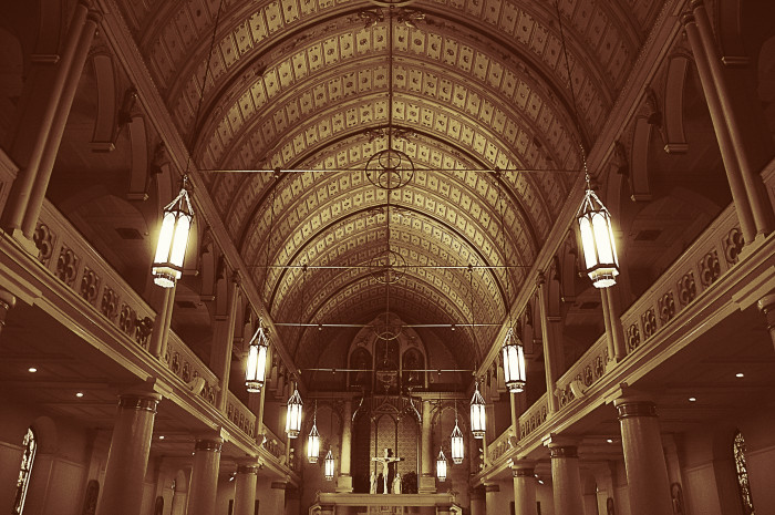 12. The oldest Catholic Church in continuous use in the United States can be found in Honolulu; the Cathedral of Our Lady of Peace was built in 1843.