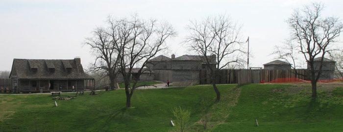 12.  Fort Osage, Sibley