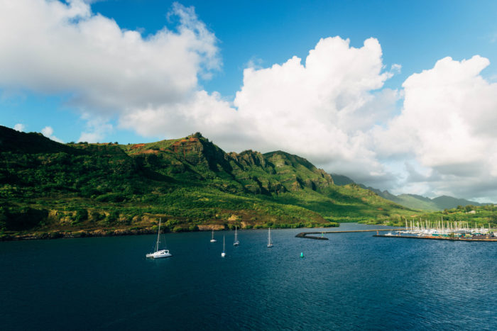 """12. Oh, and the coast near Nawiliwili Harbor was later used as the coast of Isla Soma in """"The Lost World: Jurassic Park."""""""