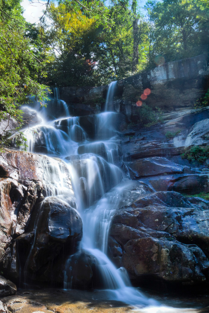 12. Ramsey Cascades is the tallest waterfall in the park at 100 feet.
