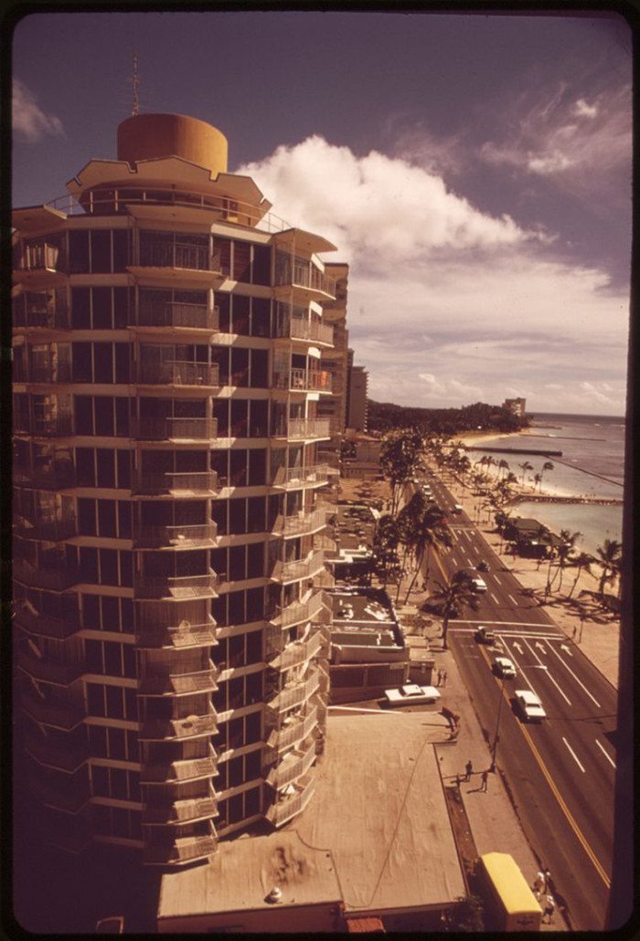 12. It's crazy to think about how much Waikiki has changed since 1973, when this photograph was taken.