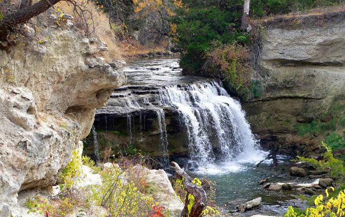 1. Snake River Falls, Nebraska