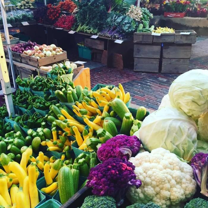 1. Portland Farmers' Market, Monument Square, Portland