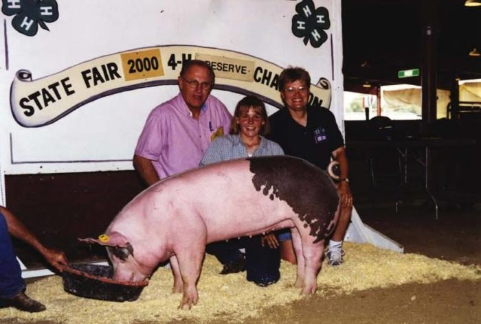 11. We raise animals to show at the State Fair.