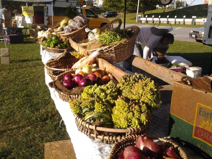 5. Rockland Farmers' Market, Harbor Park, Rockland