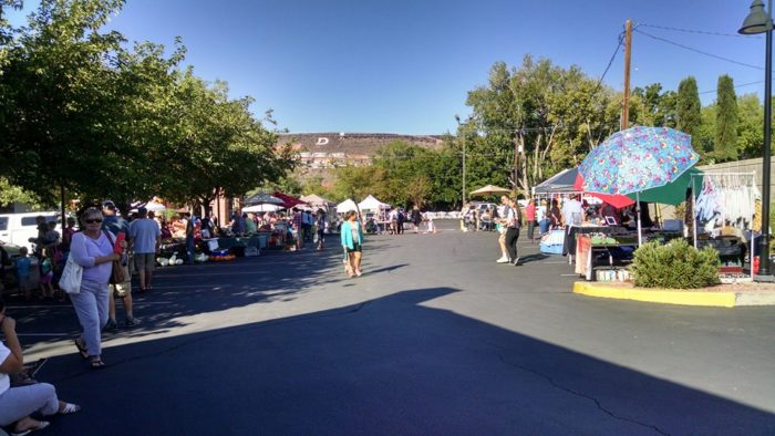 Saturday: Visit the Downtown Farmers Market.