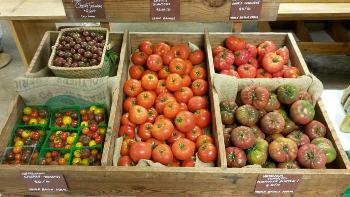 1. Visit a farmers market and bite into a Louisiana tomato Cost: Free