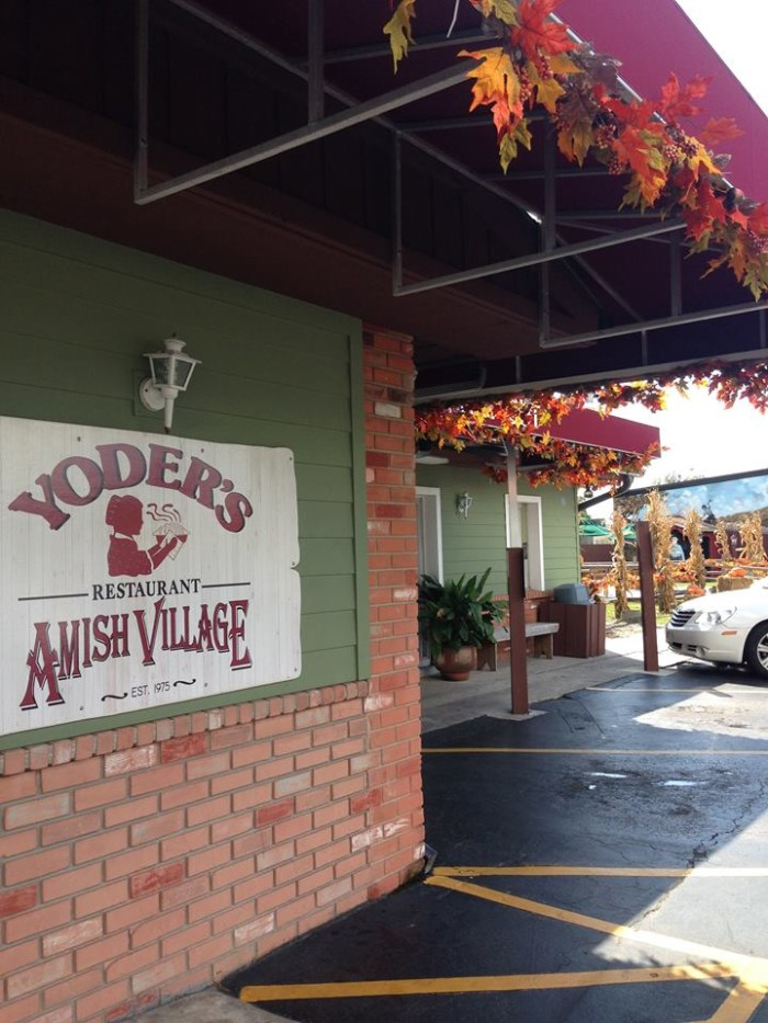 13. Pie at Yoder's