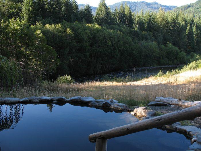 4. Rejuvenate at Breitenbush Hot Springs.