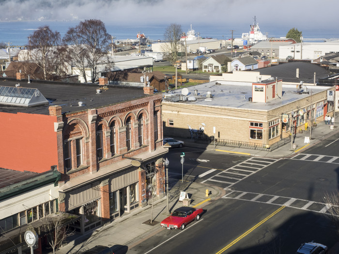 5. Their downtown is filled with historic buildings, and charming vintage shops.