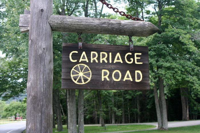7. The park's carriage roads were built with Rockefeller's teeth in mind.
