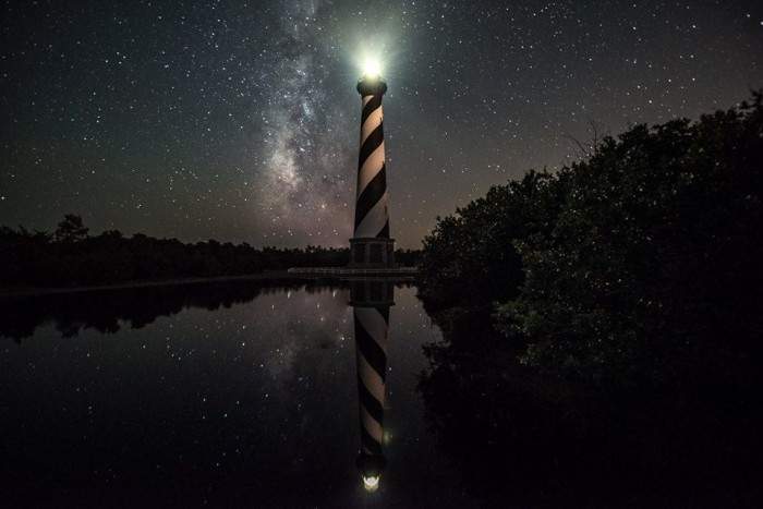 4. Go stargazing, and lighthouse gazing at Cape Hatteras!