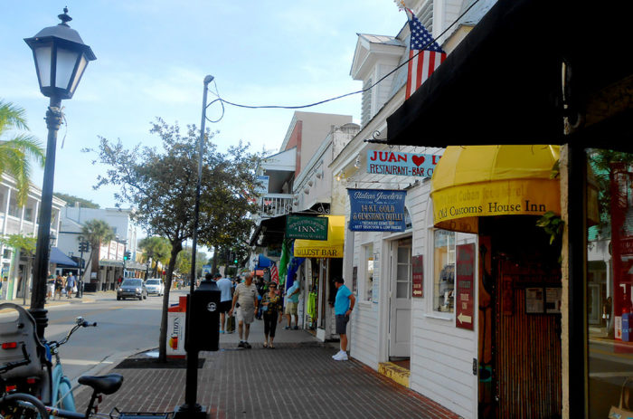 3. Because it runs across the city from coast to coast, Key West's Duval Street is called the longest street in the world.