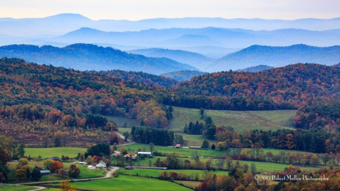 11. A view you never really grow tired of, near Boone.