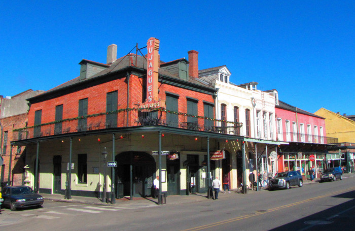 5) New Orleans is almost as Spanish as it is French.