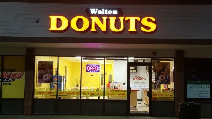 8. Walton Donuts