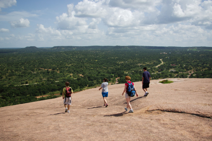 1. If you haven't already been, climb the big ol' boulder at Enchanted Rock State Natural Park.