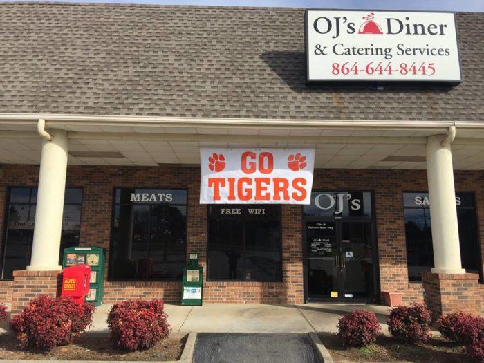 6. OJ's Diner, Greenville