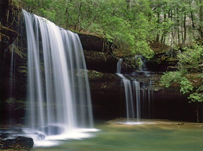 5. Upper Caney Creek Falls