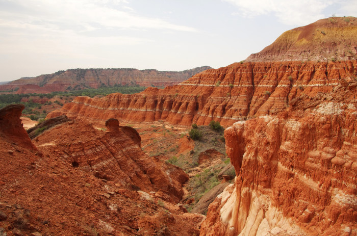 6. Do NOT hike at Palo Duro Canyon
