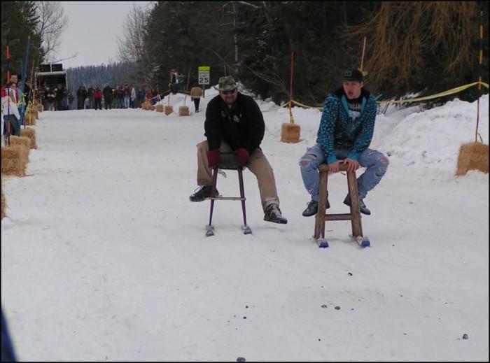 9. The Barstool Ski Races, Martin City
