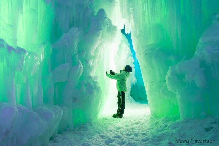 1. Midway Ice Castles, Utah