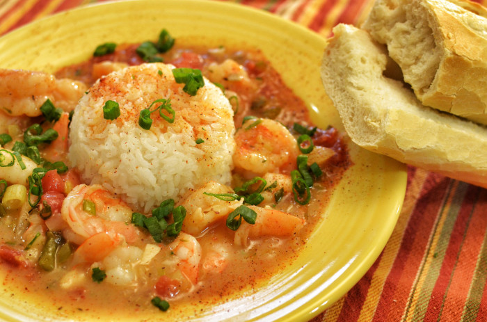 12) Shrimp Etouffee