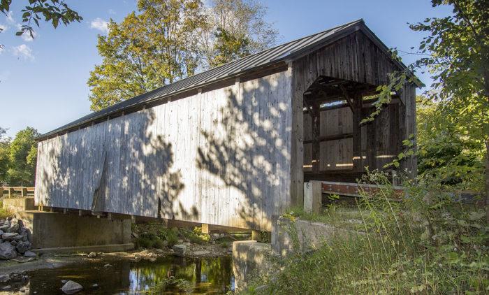 9.  Kidder Covered Bridge, Grafton